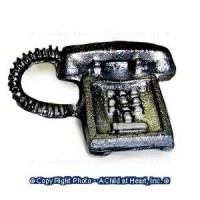 § Sale - Modern Push Button Desk Phone - Product Image