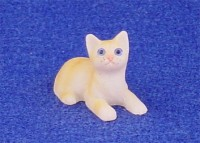 § Disc .60¢ Off - Dollhouse Orange Tabby Kitten - Product Image