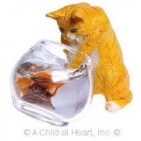Dollhouse Whisker Wishes Cat - Product Image