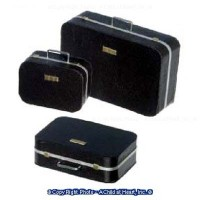 (*) 3 pc Dollhouse Suitcase Set - Product Image