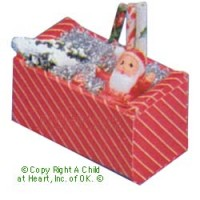 § Sale $2 Off - Dollhouse Filled Christmas Box - Product Image
