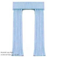 § Disc $5 Off - Dollhouse Baby Blue Single Drape - Product Image