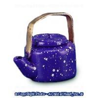 § Sale .50¢ Off - Dollhouse Spatterwear Tea Kettle - Product Image
