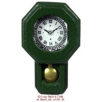 Dollhouse Railroad Wall Clock - Product Image
