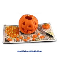 (*) Dollhouse Carved Pumpkin in Progress - Product Image