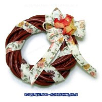 Dollhouse Fall Wreath - Product Image