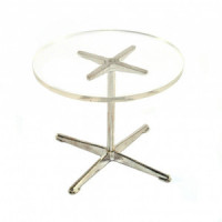 (*) Dollhouse Cleartop Table - Product Image
