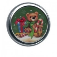 (**) Dollhouse Holiday Tins - Round - Product Image