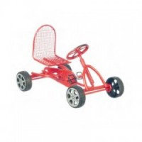 (*) Dollhouse Pedal Car - Red - Product Image