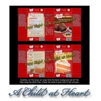 (**) Dollhouse Cake & Brownie Mix Box (Kit) - Product Image