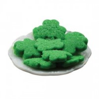 Holiday Cookies On Plate - Product Image