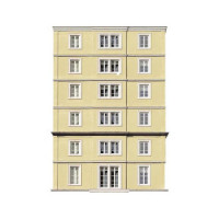 Modern Hotel 4 Dollhouse (Kit) - Product Image