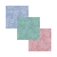 3 Shts - Dollhouse Damask Wallpaper- Choice of Color - - Product Image
