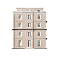 Modern Hotel 3 Dollhouse (Kit) - Product Image