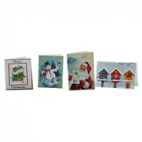 (*) Dollhouse Postcards or Christmas Cards - Product Image