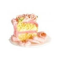Dollhouse 2 Single Slices of Cake - Product Image