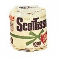 (§) Disc. .50¢ Off - Dollhouse Toilet Paper Kit - Product Image