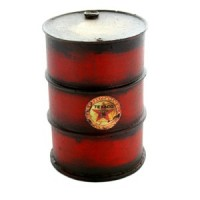 (**) Dollhouse Oil Drum (Assorted) - Product Image