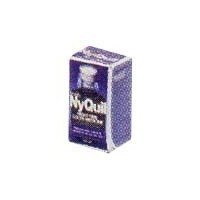 § Disc .70¢ Off - Dollhouse Nyquil Cough Syrup Box  - Product Image