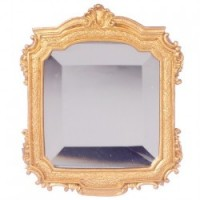 Dollhouse Ornate Belved Mirror - Product Image