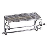 (***) Metal Bathroom Wall Shelf - Product Image