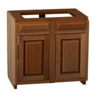 "(*) Dollhouse 3"" Sink / Stove Cabinet - Product Image"