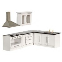 (* Closeout *) Dollhouse Modern Kitchen- Choice of Style - - Product Image