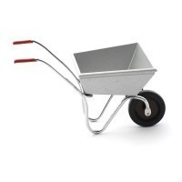 Dollhouse Wheelbarrow - Silver - Product Image