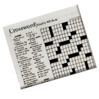 (**) Dollhouse Crossword Puzzle - Product Image