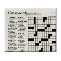 (*) Dollhouse Crossword Puzzle - Product Image