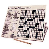 Crossword Puzzle w/Pencil - Product Image