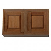 "(**) Dollhouse 3"" Upper Cabinet - Product Image"