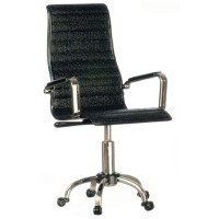 (*) Dollhouse Modern Office Directors Chair- Choice of Color - - Product Image