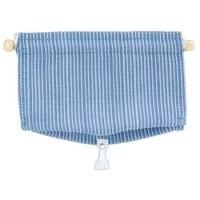 Dollhouse Blue Stripe Shade - Product Image