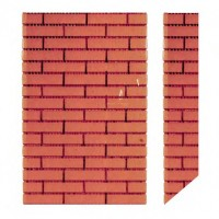 Dollhouse Side Roof Chimney - Product Image