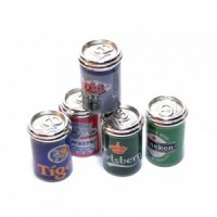 (*) 2 Cans of Dollhouse Beer - Choice of Styles  - Product Image