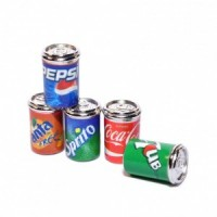 (*) 2 Cans of Dollhouse Soda - Choice of Styles -  - Product Image