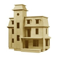 Dollhouse Empire Victorian Shell (Kit) - Product Image