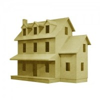 Dollhouse Colonial House Shell (Kit) - Product Image