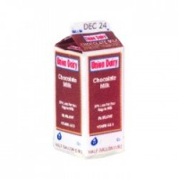 Dollhouse Chocolate Milk Carton - Product Image