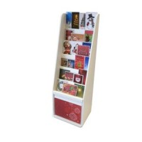 Dollhouse Christmas Card Display Stand - Narrow - Product Image