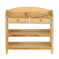 Dollhouse Slatted Changing Table - Product Image