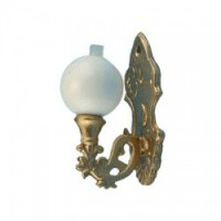 Dollhouse Single Sconce with Ball - Product Image