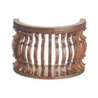 Dollhouse Round/B-Curve Balcony - Product Image