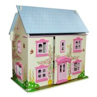 (**) Rose Cottage Dollhouse(Junior Miniature Dollhouse Kit) - Product Image