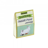 Dollhouse Traditional Rabbit Food Bag - Product Image