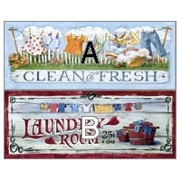 § Sale .50¢ Off - Laundry Room - Prints - Product Image