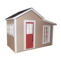 Garden Shed with 2 roofs - Product Image