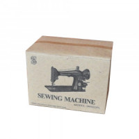 (*) Dollhouse Singer Sewing Machine Box- Choice of Style - - Product Image
