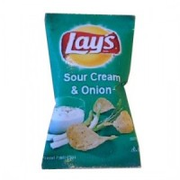 (**) Bag of Lay's Sour Cream & Onion Chips - Product Image